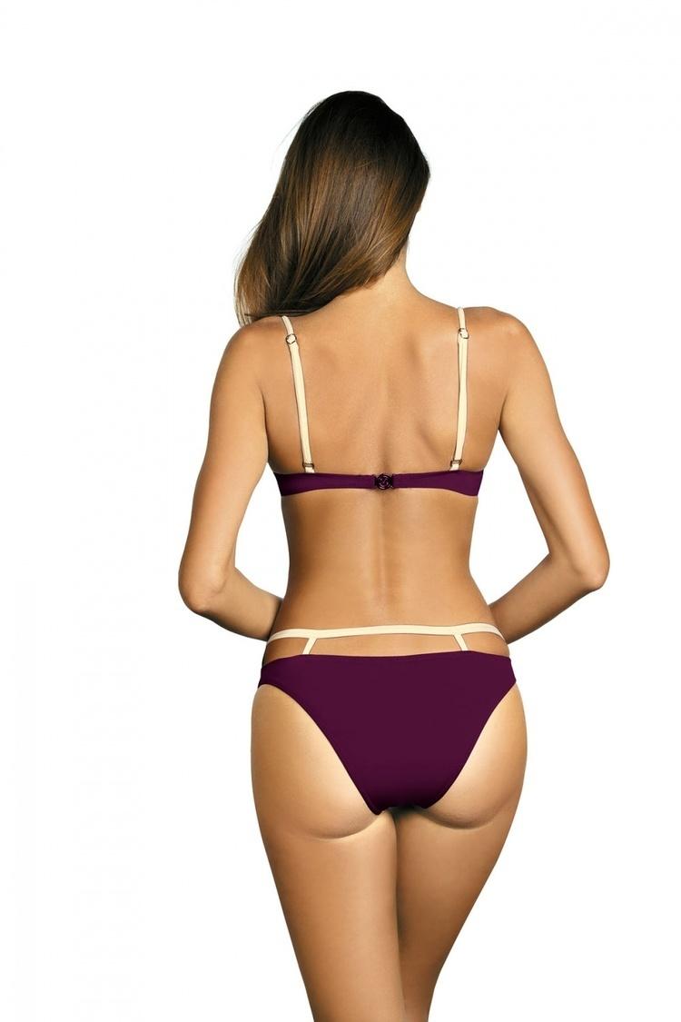 Kostium dwuczęściowy Kostium Kąpielowy Model Nathalie Magenta Purple M-391 Violet - Marko