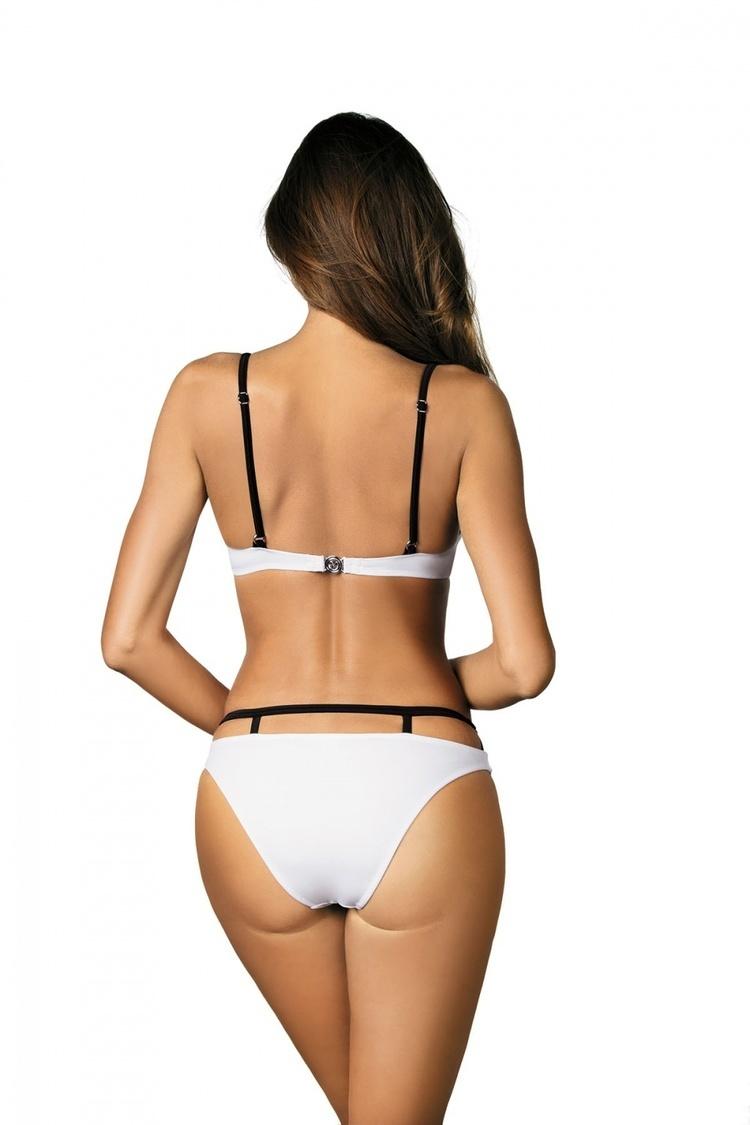 Kostium dwuczęściowy Kostium Kąpielowy Model Nathalie Bianco M-391 White - Marko