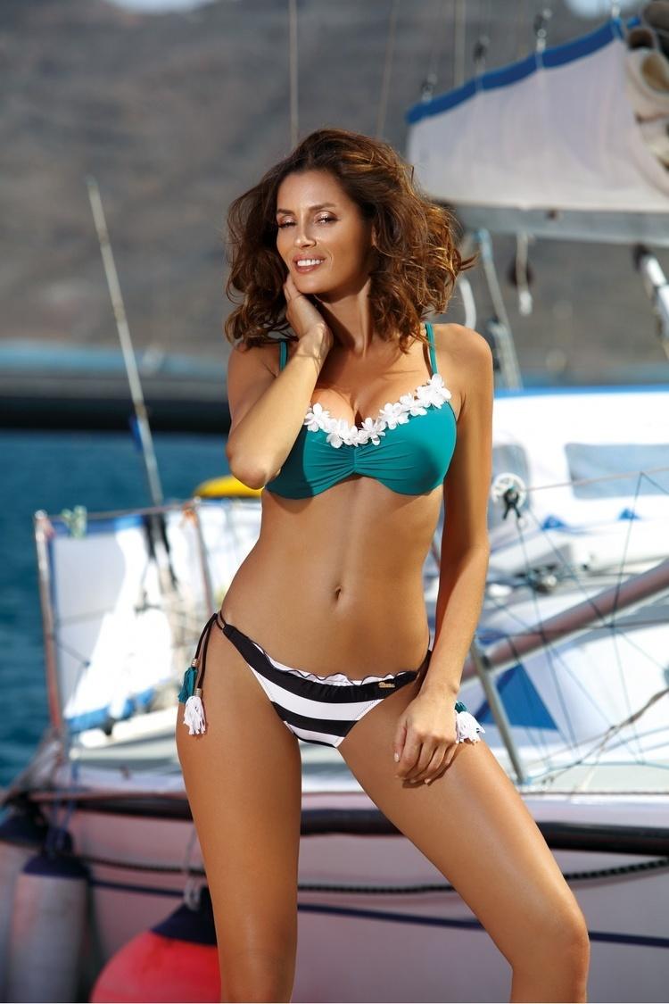 Kostium dwuczęściowy Kostium Kąpielowy Model Andrea Azurrite M-447 Green - Marko
