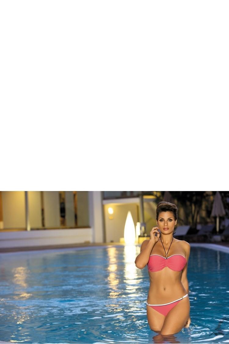 Kostium dwuczęściowy Kostium Kąpielowy Model Andrea Nectarine M-193 Orange - Marko