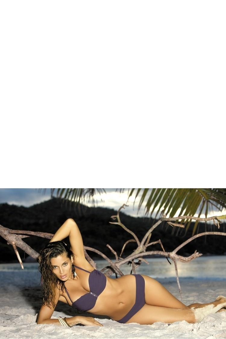 Kostium dwuczęściowy Kostium Kąpielowy Model Eliza M-122 Grafit - Marko