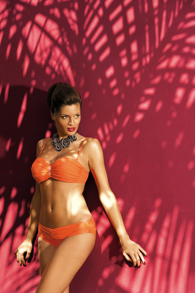 Kostium dwuczęściowy Kostium kąpielowy Model Eliza Tropico M-122 Orange - Marko