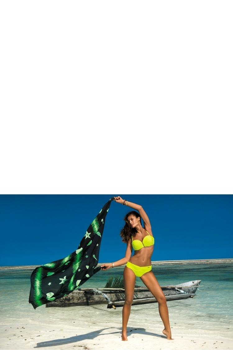 Kostium dwuczęściowy Kostium Kąpielowy Model Amanda Radiance M-386 Seledyn - Marko