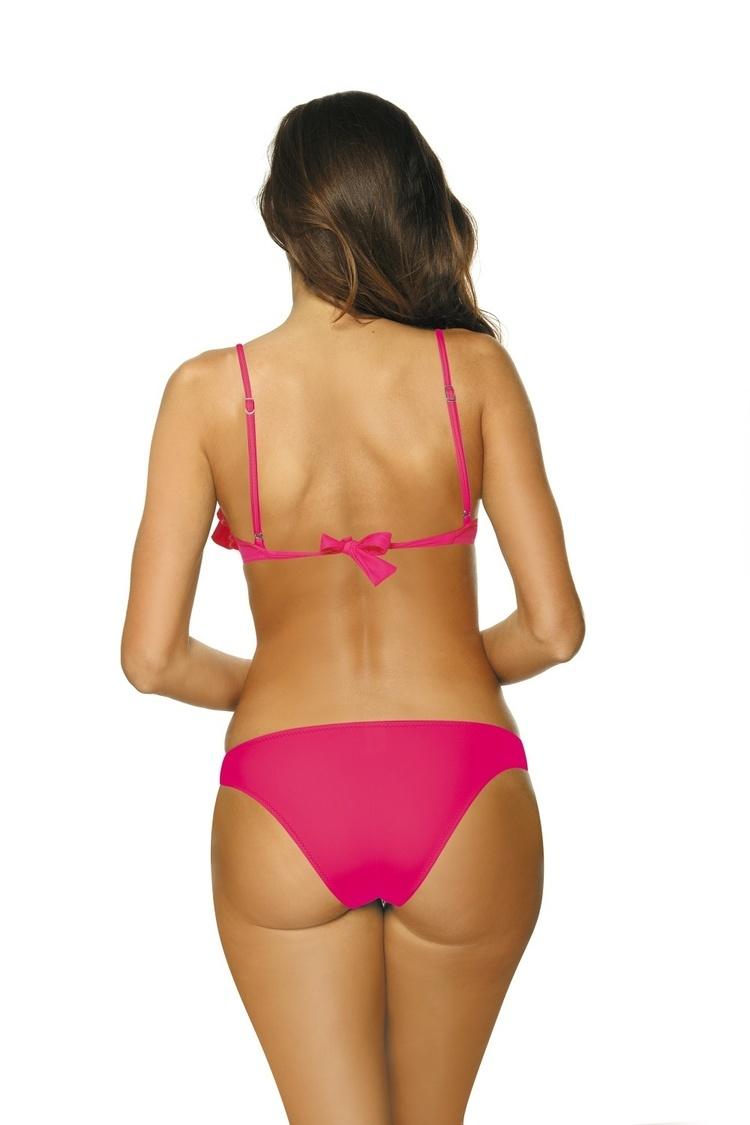 Kostium dwuczęściowy Kostium kąpielowy Model Matylda Rosa Shocking M-469 Neon Pink - Marko