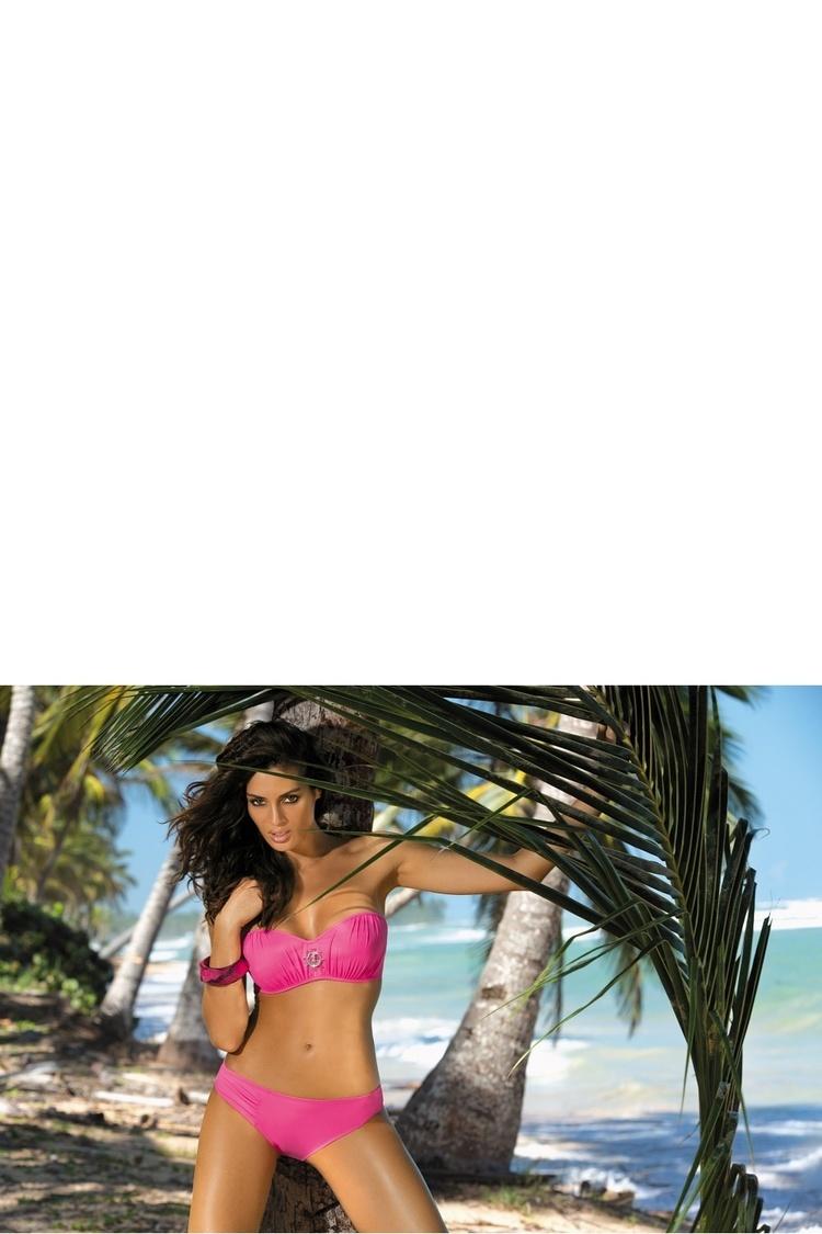 Kostium dwuczęściowy Kostium kąpielowy Model Edith Rosa Shocking M-255 Pink - Marko