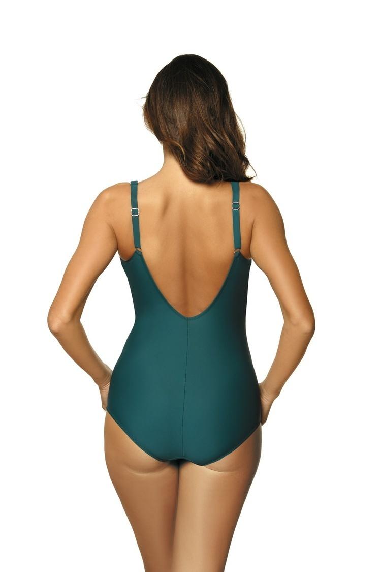Jednoczęściowy strój kąpielowy Kostium Kąpielowy Model Casidy Orosei M-500 Green - Marko