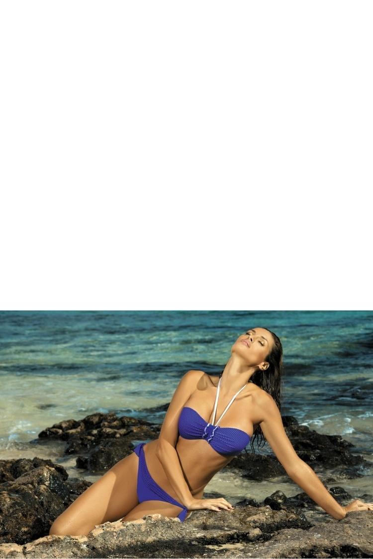 Kostium dwuczęściowy Kostium kąpielowy Model Emily Oltremare M-217 Blue - Marko