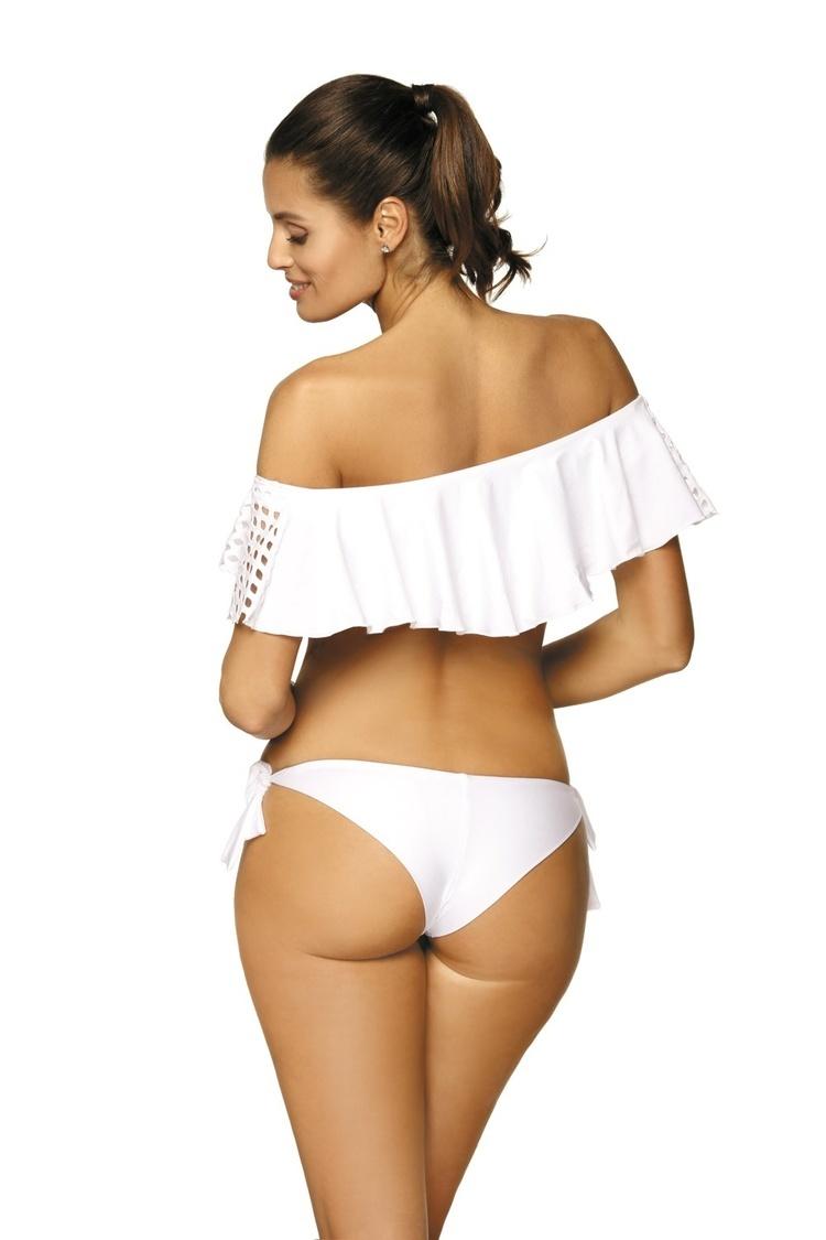 Kostium dwuczęściowy Kostium Kąpielowy Model Carrie Bianco M-466 White - Marko