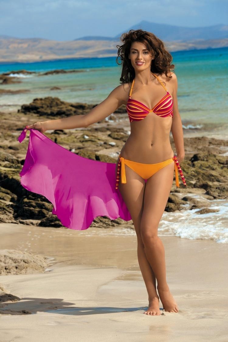 Kostium dwuczęściowy Kostium Kąpielowy Model Alison Calendula M-297 Mandarin - Marko