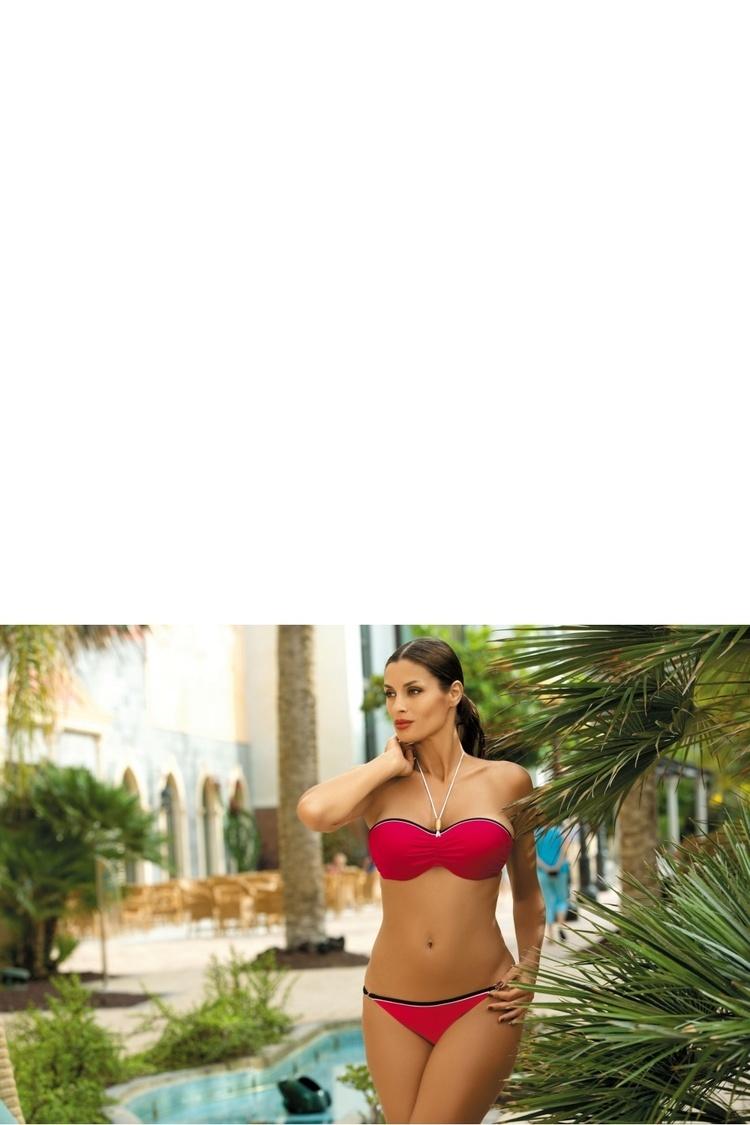 Kostium dwuczęściowy Kostium Kąpielowy Model Andrea Red Coat M-193 Red - Marko