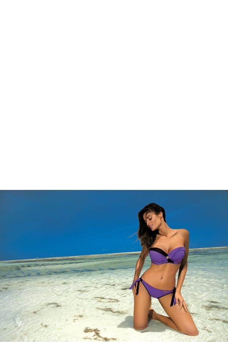 Kostium dwuczęściowy Kostium Kąpielowy Model Jessica Viola M-400 Violet - Marko
