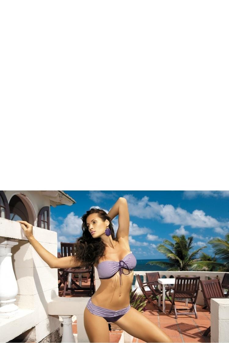 Kostium dwuczęściowy Kostium Kapielowy Model Shakira PT M-131 Violet - Marko