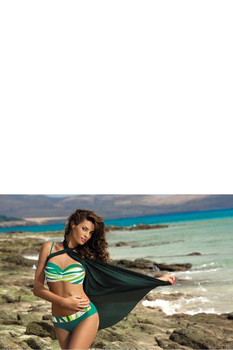 Sukienka Plażow Pareo Model D Woody Green - Marko