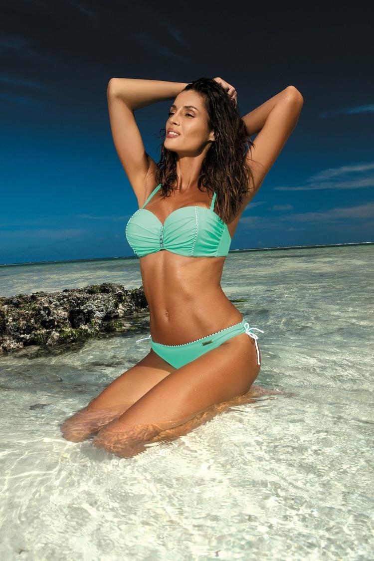 Kostium dwuczęściowy Kostium Kąpielowy Model Tracy Seafoam Glow M-392 Mint - Marko