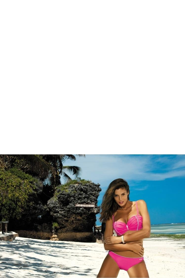 Kostium dwuczęściowy Kostium Kąpielowy Model Tracy Rosa Shocking M-392 Pink - Marko