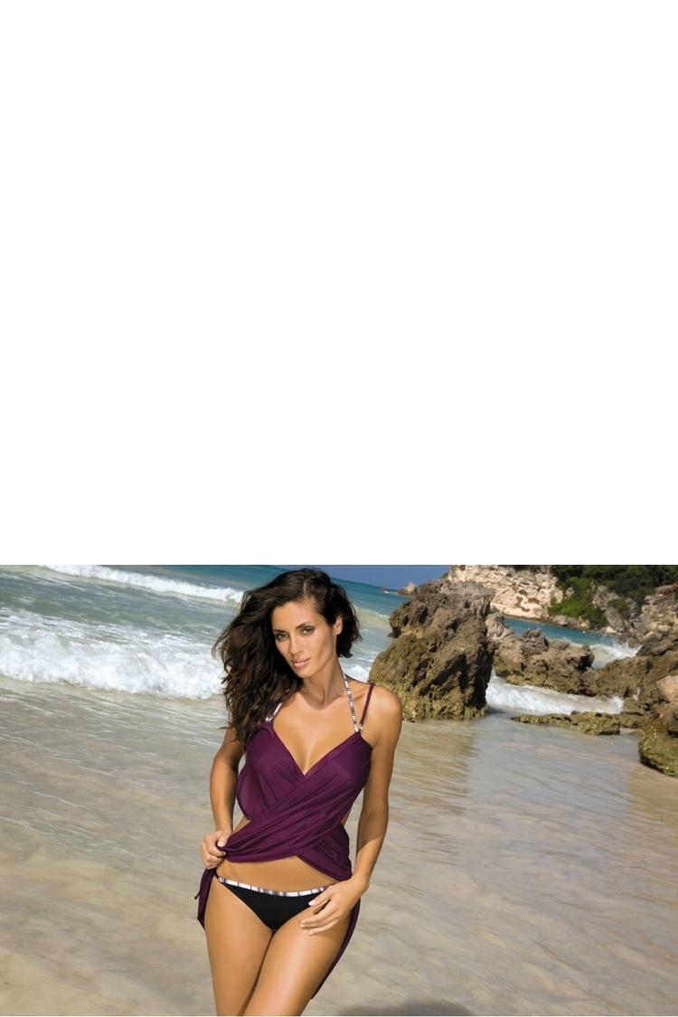 Sukienka Plażow Pareo C Vigneto (14) Purple - Marko