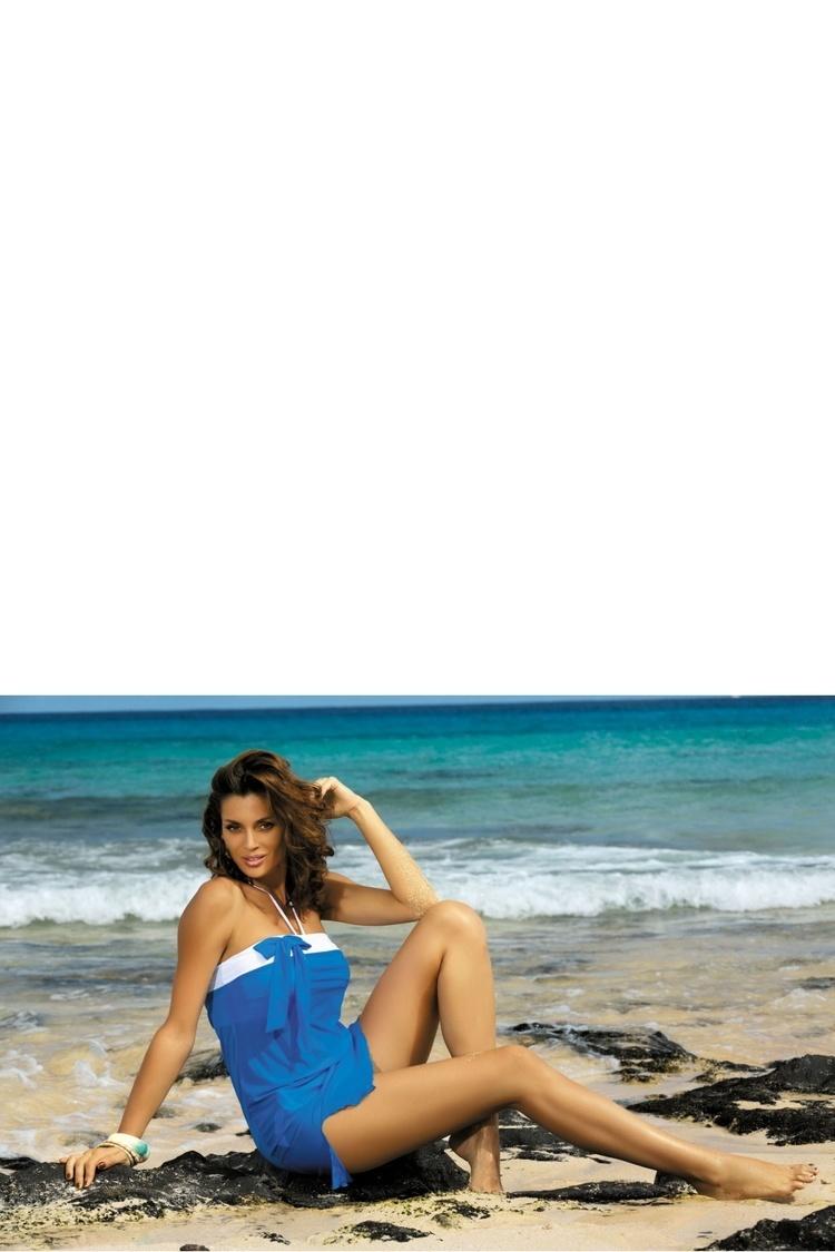 Sukienka Plażow Pareo Model Mia Surf M-241 Blue - Marko
