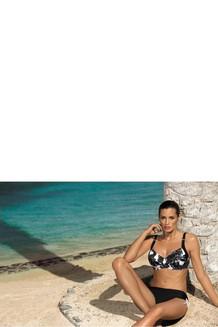 Kostium dwuczęściowy Kostium Kąpielowy Model Daphne Nero M-318 Black - Marko