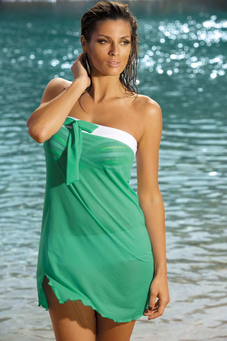 Sukienka Plażow Pareo Model Mia Zacinto M-241 Green - Marko
