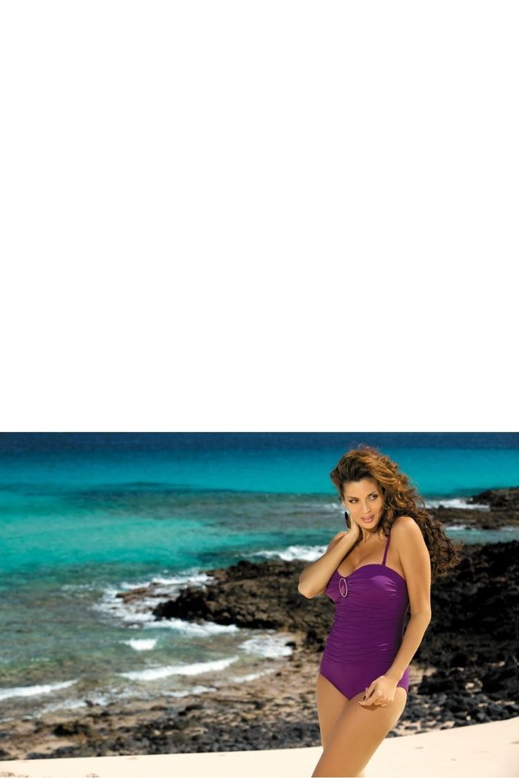 Jednoczęściowy strój kąpielowy Kostium Kąpielowy Model Melanie Spirit M-203 Violet - Marko