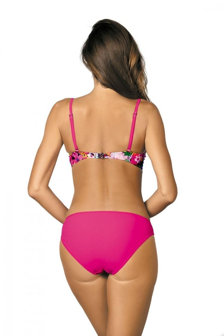 Jednoczęściowy strój kąpielowy Kostium Kąpielowy Model Blanca Foulard M-432 Pink - Marko