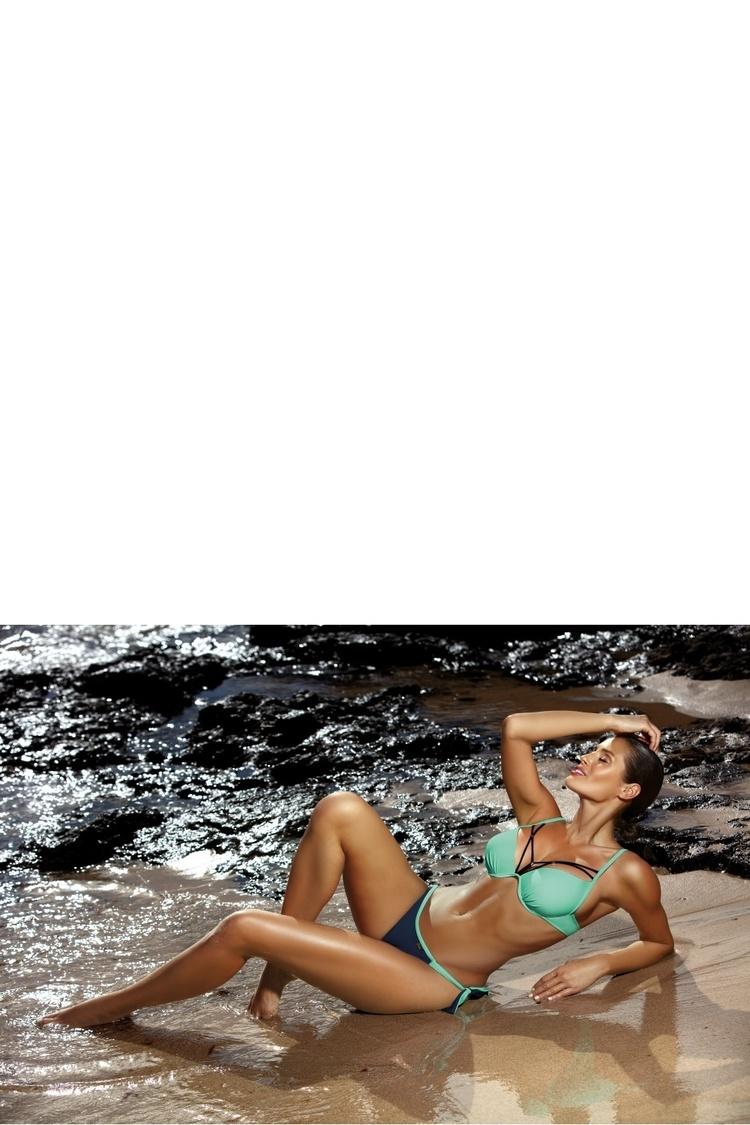 Kostium dwuczęściowy Kostium kąpielowy Model Virginia Camargue-Frozen M-456 Mint/Morski - Marko