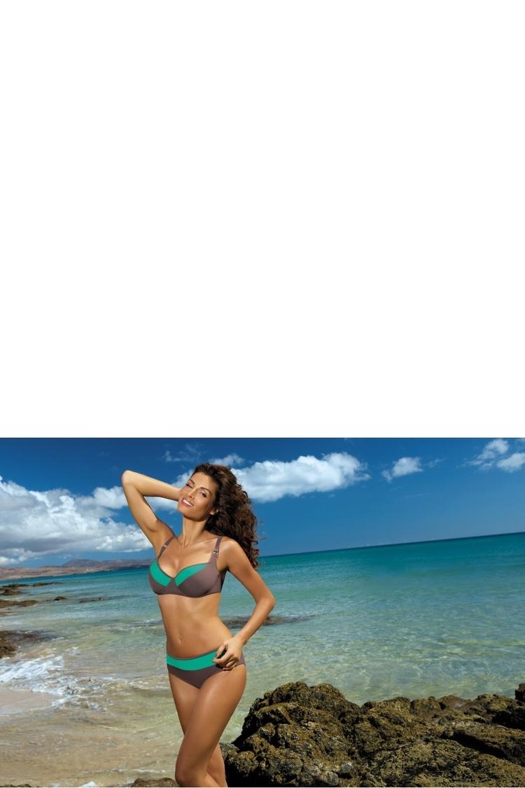 Kostium dwuczęściowy Kostium kąpielowy Model Nancy Tortora-Maladive M-330 Brown/Green - Marko