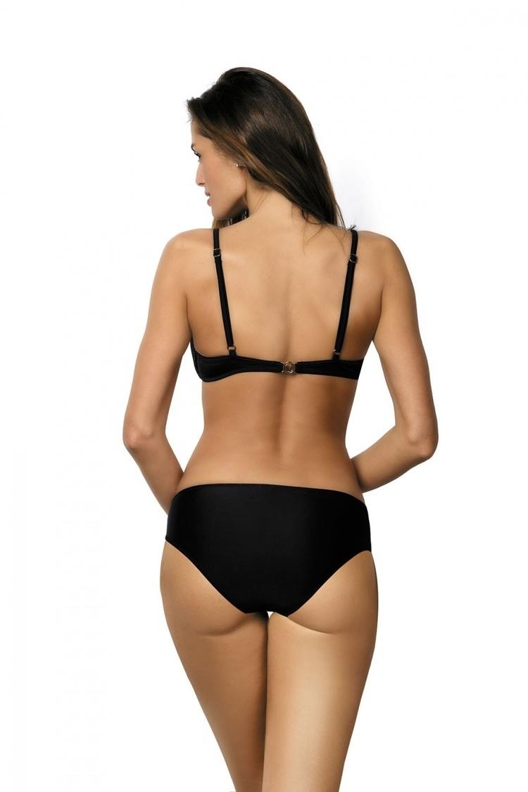 Kostium dwuczęściowy Kostium Kąpielowy Model Nadia Nero-Dafne M-374 Black/Pink - Marko