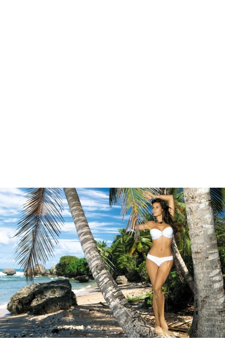 Kostium dwuczęściowy Kostium Kąpielowy Model Eliza M-122 White - Marko