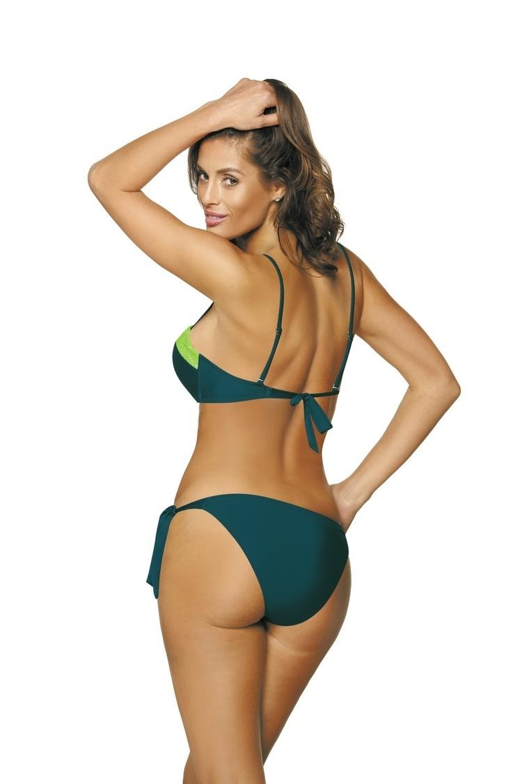 Kostium dwuczęściowy Kostium kąpielowy Model Felicia Venetial-Bianco M-491 Green - Marko