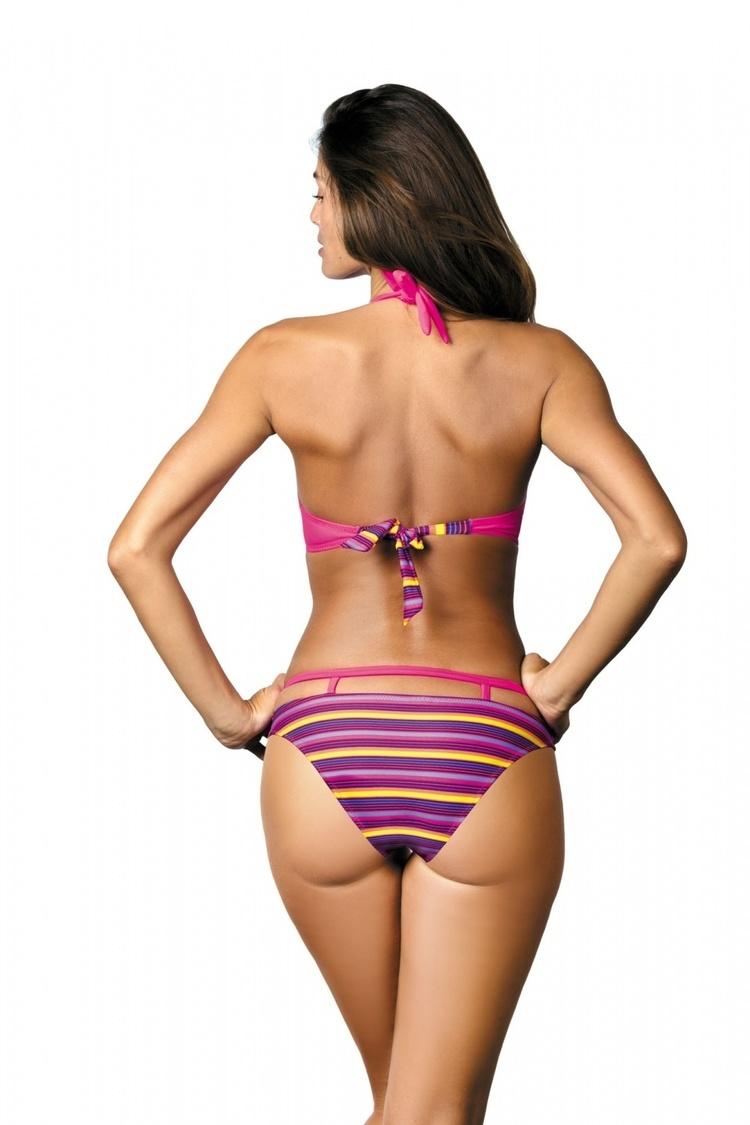 Kostium dwuczęściowy Kostium Kąpielowy Model Brenda Rosa Shocking M-403 Pink - Marko