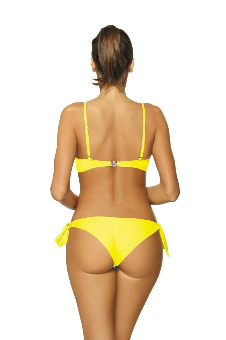 Kostium dwuczęściowy Kostium kąpielowy Model Meredith Amarillis M-467 Yellow - Marko