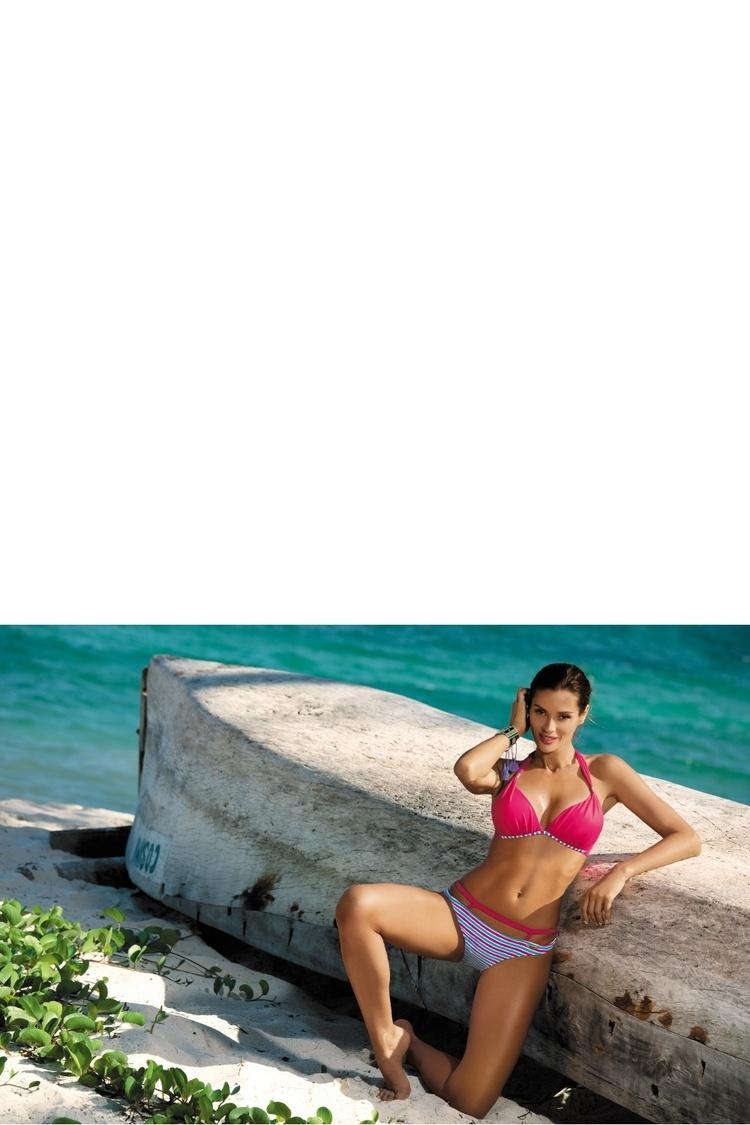 Kostium dwuczęściowy Kostium Kąpielowy Model Brenda Fresia M-403 Fuksja - Marko