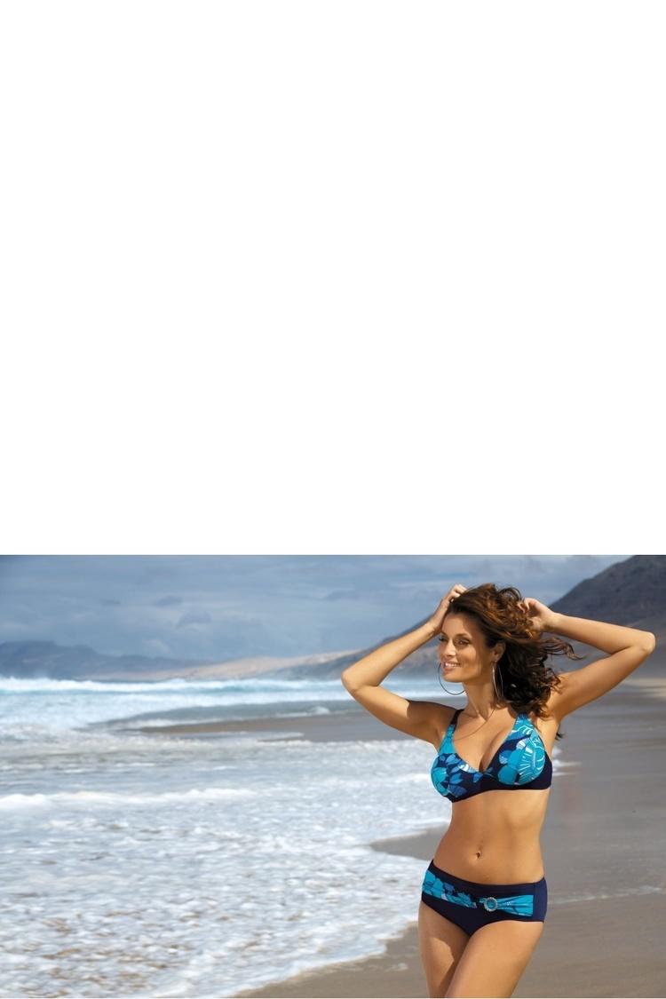 Kostium dwuczęściowy Kostium Kąpielowy Model Ella M-238 Blue - Marko