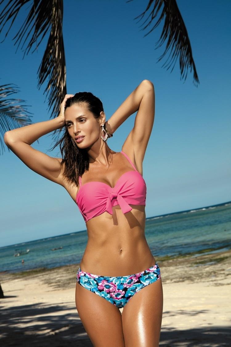 Kostium dwuczęściowy Kostium Kąpielowy Model Pamela Milk Shake M-421 Light Pink - Marko