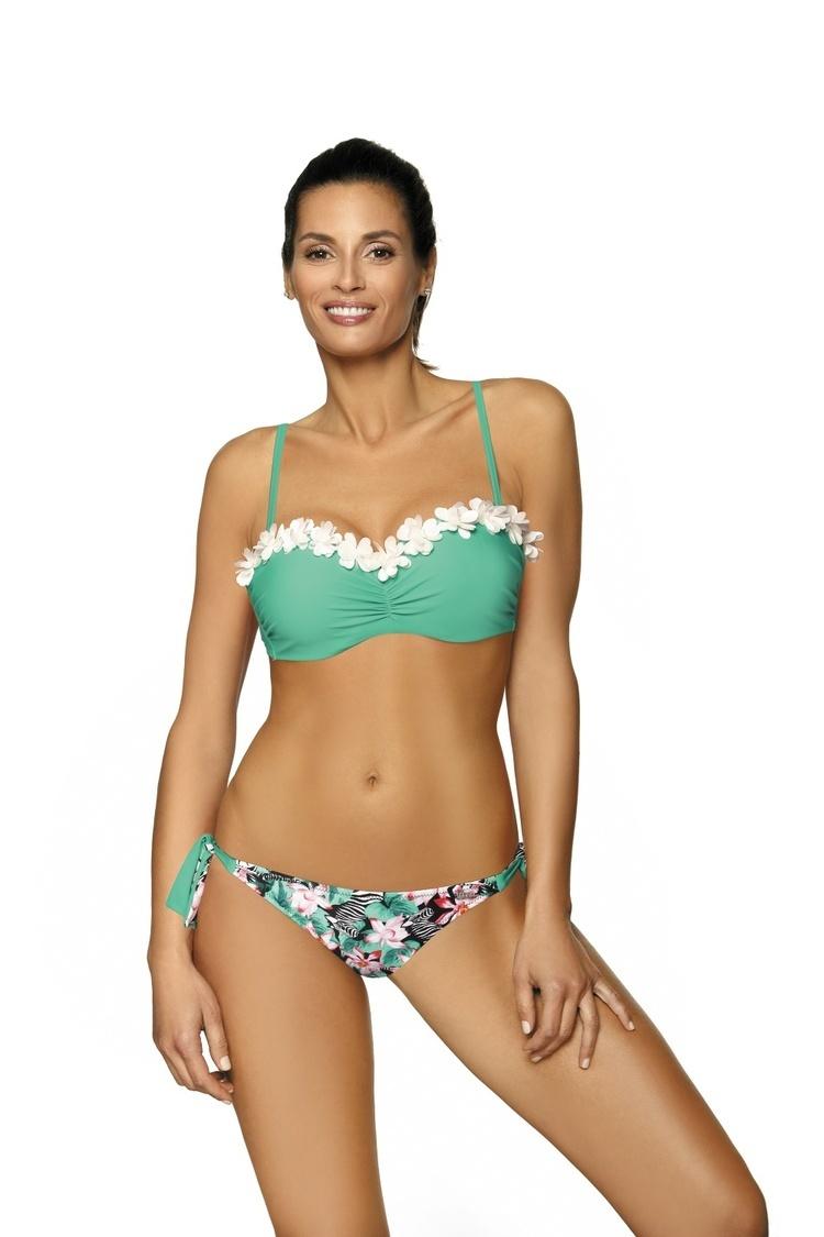 Kostium dwuczęściowy Kostium Kąpielowy Model Claudia Marbella M-452 Green - Marko
