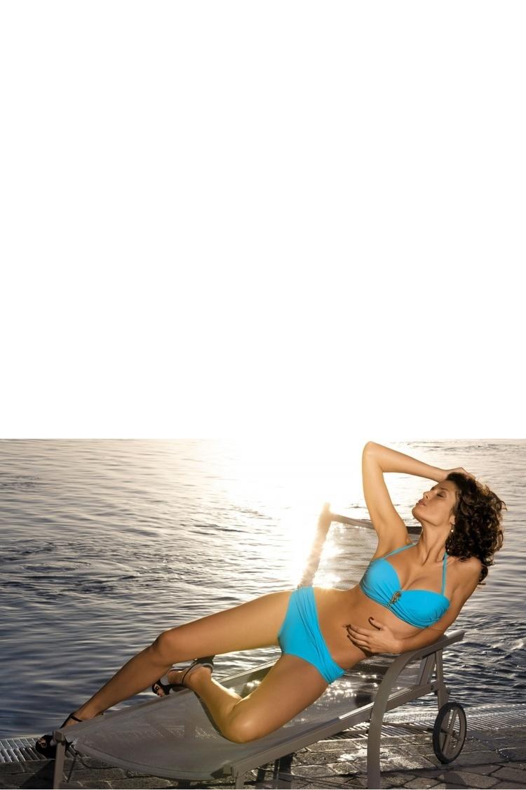 Kostium dwuczęściowy Kostium Kąpielowy Model Adaline Mare M-384 Sky Blue - Marko