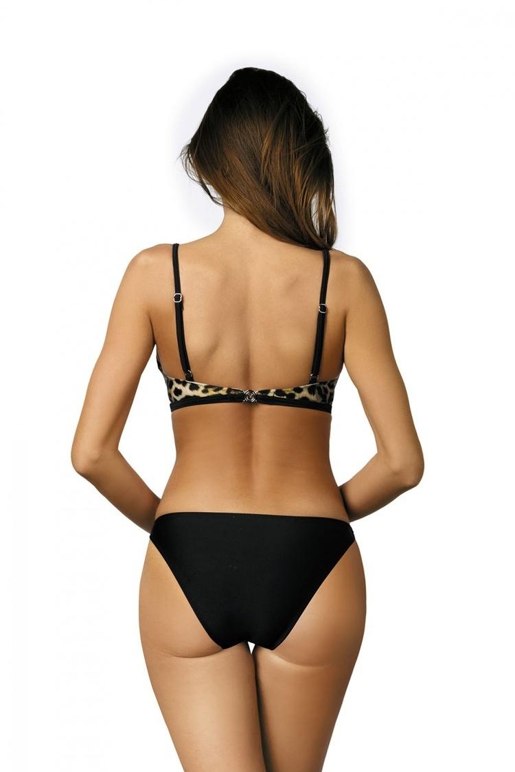 Jednoczęściowy strój kąpielowy Kostium Kąpielowy Model Shila Nero M-442 Black - Marko