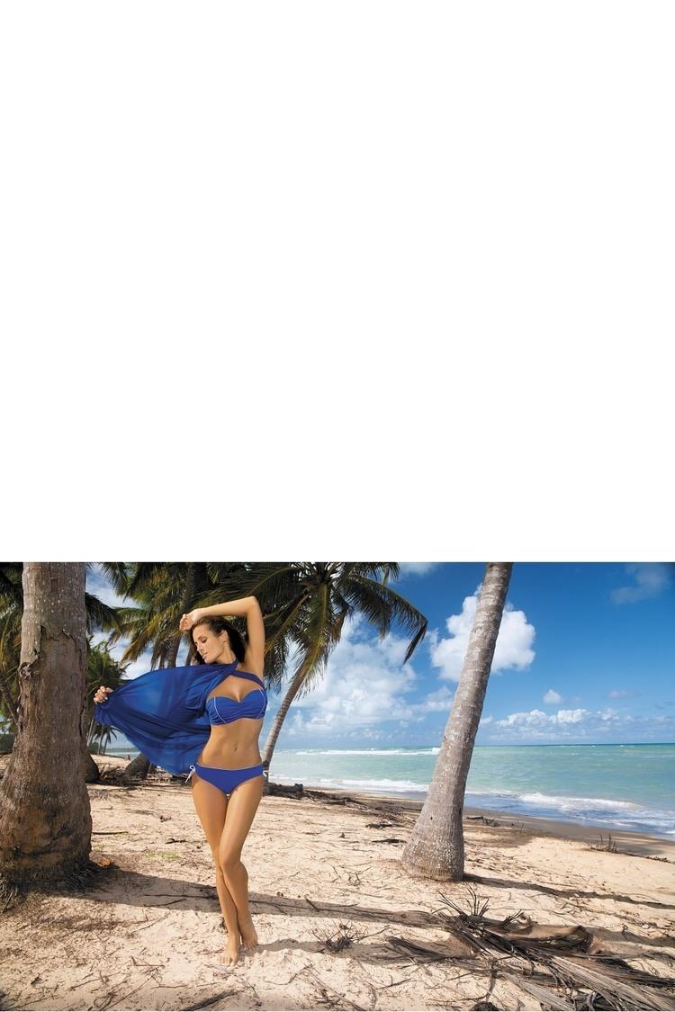 Kostium dwuczęściowy Kostium Kąpielowy Model Naomi Regatta M-245 Szafir blue - Marko