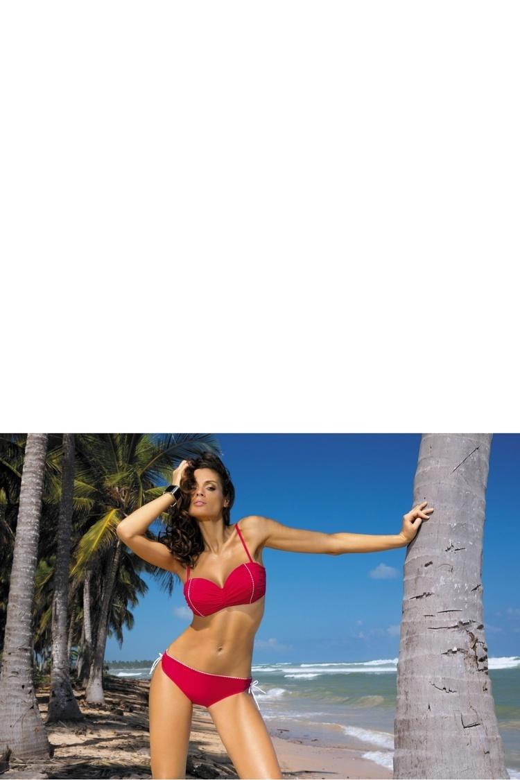 Kostium dwuczęściowy Kostium Kąpielowy Model Naomi Rosso Passione M-245 Red - Marko