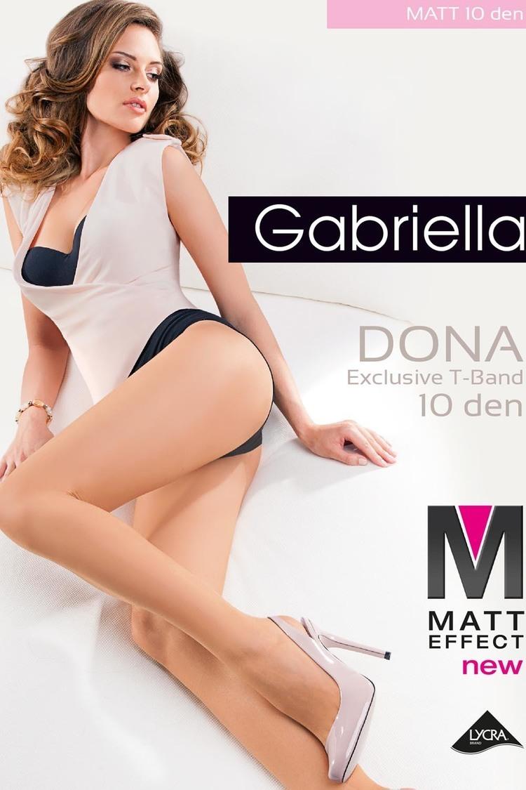 Rajstopy Klasyczne Model Dona Matt 10 Den Code 712 Beige - Gabriella