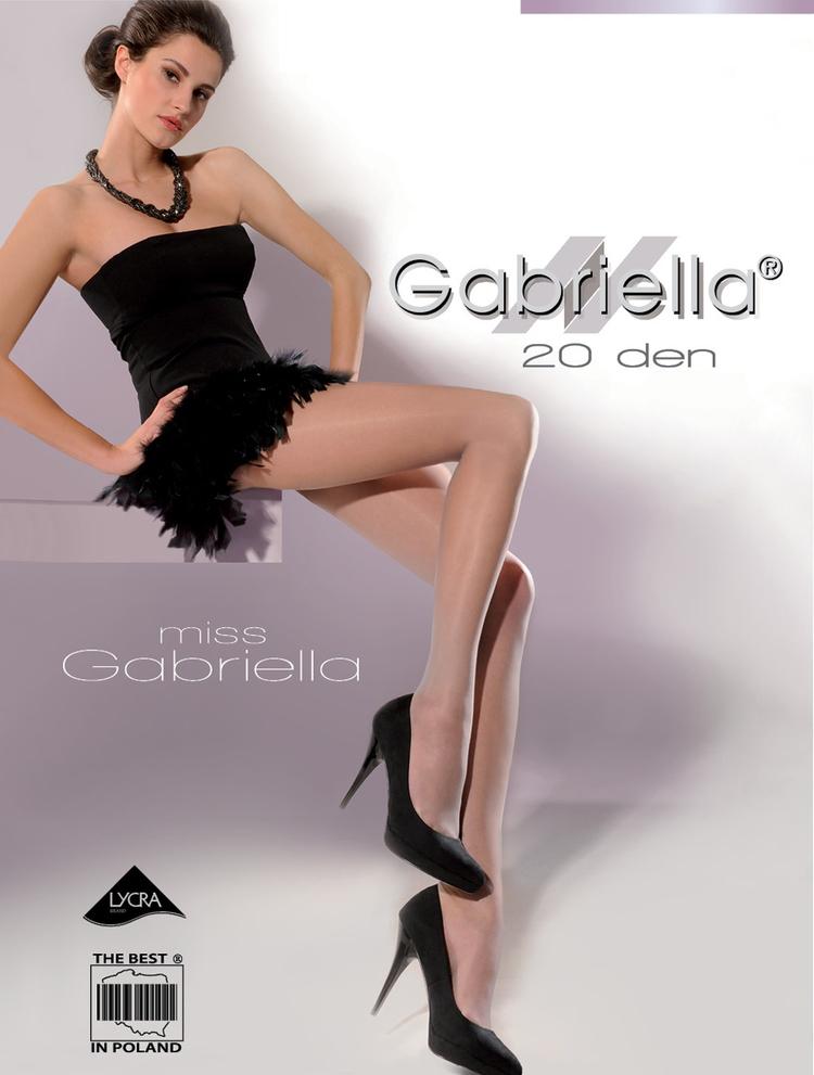 Rajstopy Miss Gabriella 20 DEN code 105  - Gabriella
