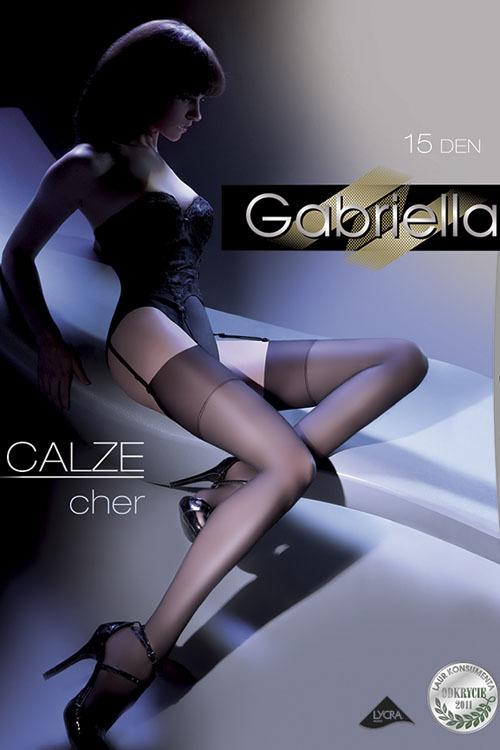 Po?czochy Klasyczne Model Calze Cher 15 DEN Code 226 Nero - Gabriella