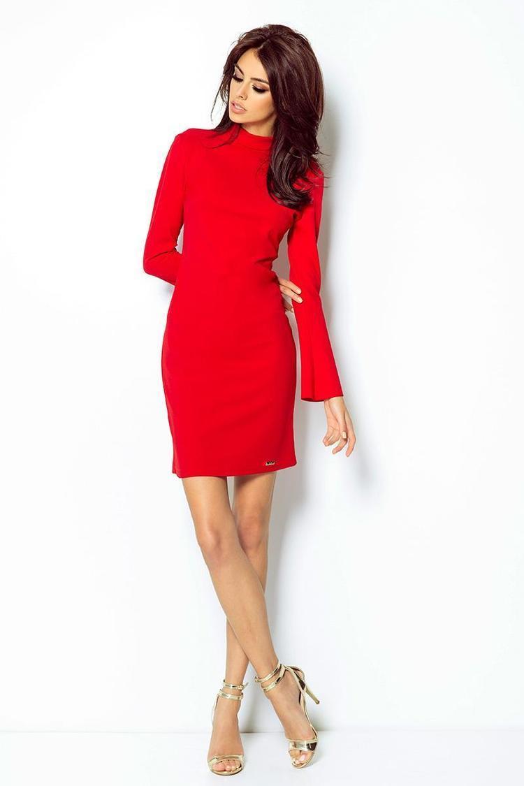 Sukienka Model Giselle 300 Red - IVON