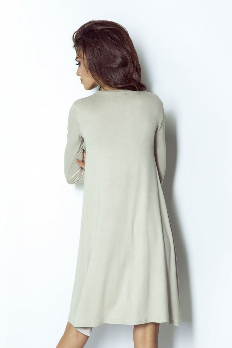 Sukienka Model Amelya 205 Beige - IVON