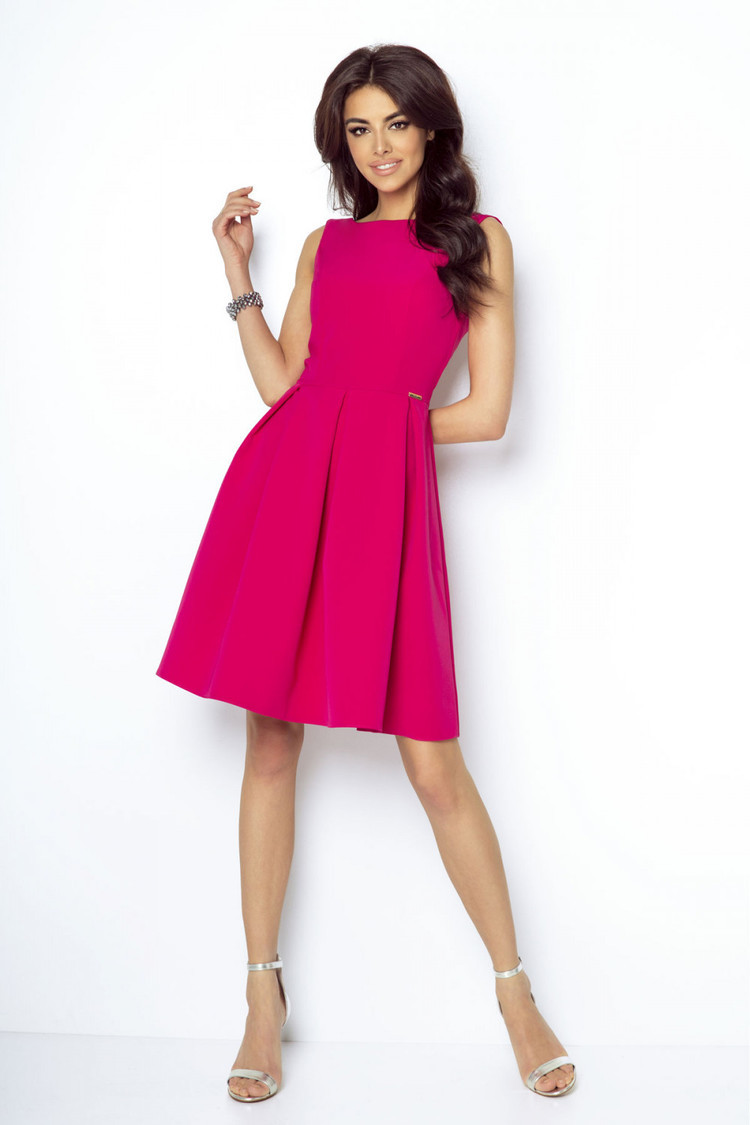 Sukienka Model Tailor 215 Fuksja - IVON