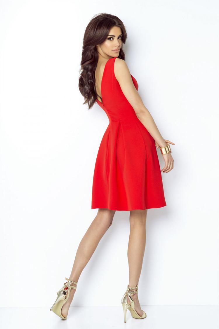 Sukienka Model Tailor 215 Red - IVON