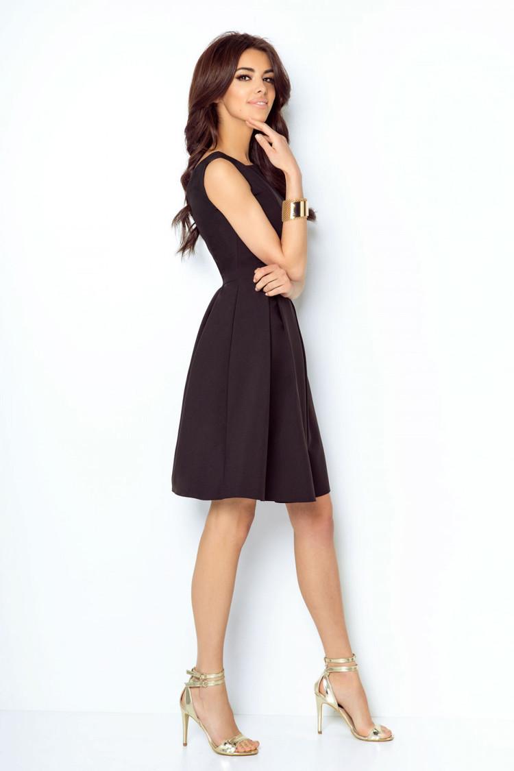 Sukienka Model Tailor 215 Black - IVON