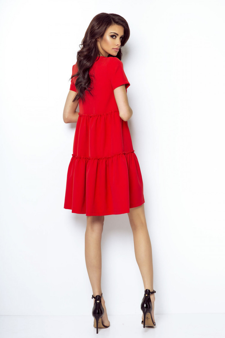 Sukienka Model Pola 214 Red - IVON
