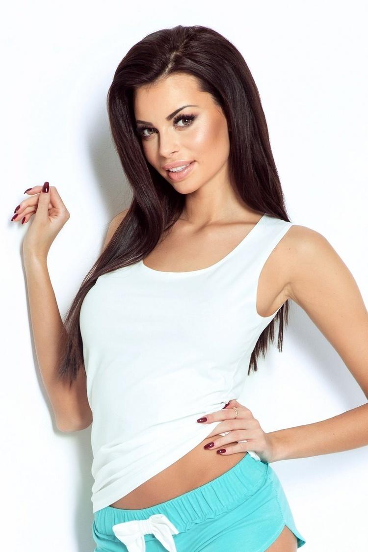 Koszulka Selma PK03 White - IVON